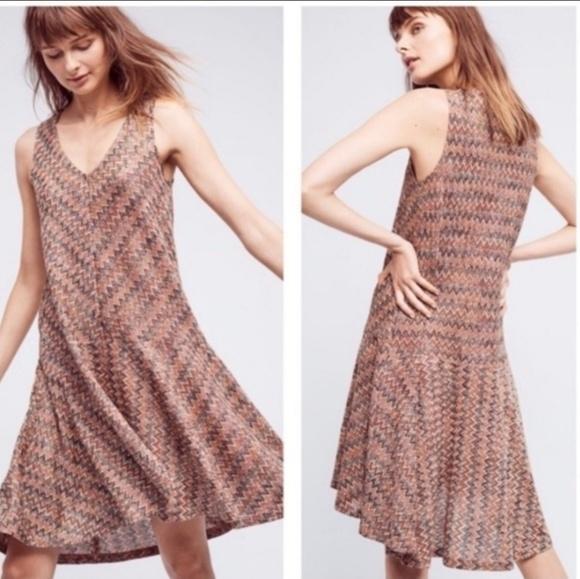 b6adcb84382a Anthropologie Dresses | Maeve Westwater Chevron Knit Dress | Poshmark
